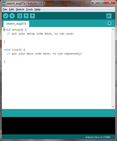 Arduino uno download sketch
